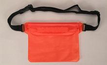 Однотонные прозрачные ПВХ поясные сумки унисекс водонепроницаемые поясные сумки для мужчин и женщин Регулируемая поясная сумка Грудь бума...(Китай)