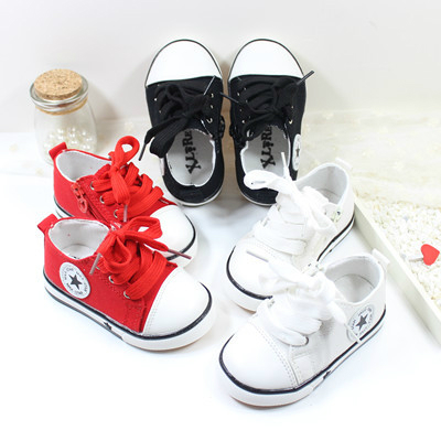 Breathable Children Shoes Boys Girls Canvas Shoes Low To Help Casual Sneakers Kids Sports Shoes Flats Front Lacing Zapato 21-30
