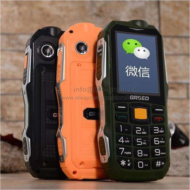 2015 Russian keyboard waterproof dustproof 4800mAh battery power bank torch FM cell mobile phones A8+ P492