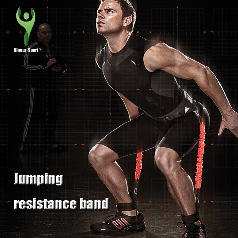 Jump Resistance Bands Fitness Equipment Trainer Rope