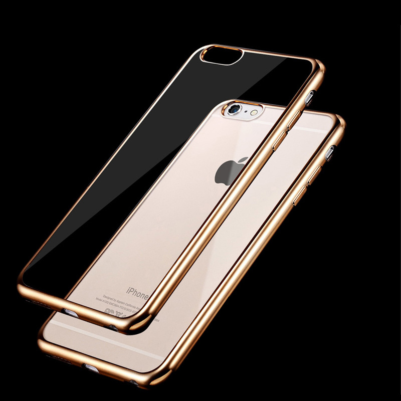 best website f9345 bd5cd For iPhone 6s Bumper Case Slim Cases – Scratch Resistant Silicon Back Panel  – Cover for Apple iPhone 6 (4.7 inch) Bumper