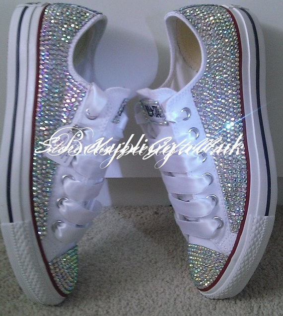 Bling Out Wedding Tennis Shoes