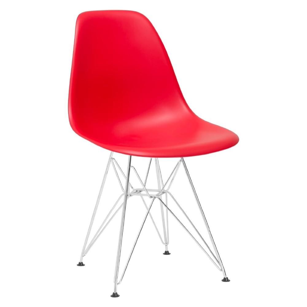 Italien scandinave style célèbre réplique meubles moderne en plastique chaise design T833