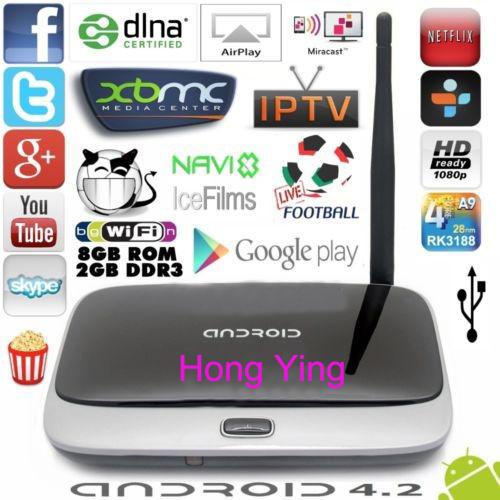 Q7 Android tv box Quad Core CS918 T-R42 K-R42 MK888 MK888B MK918