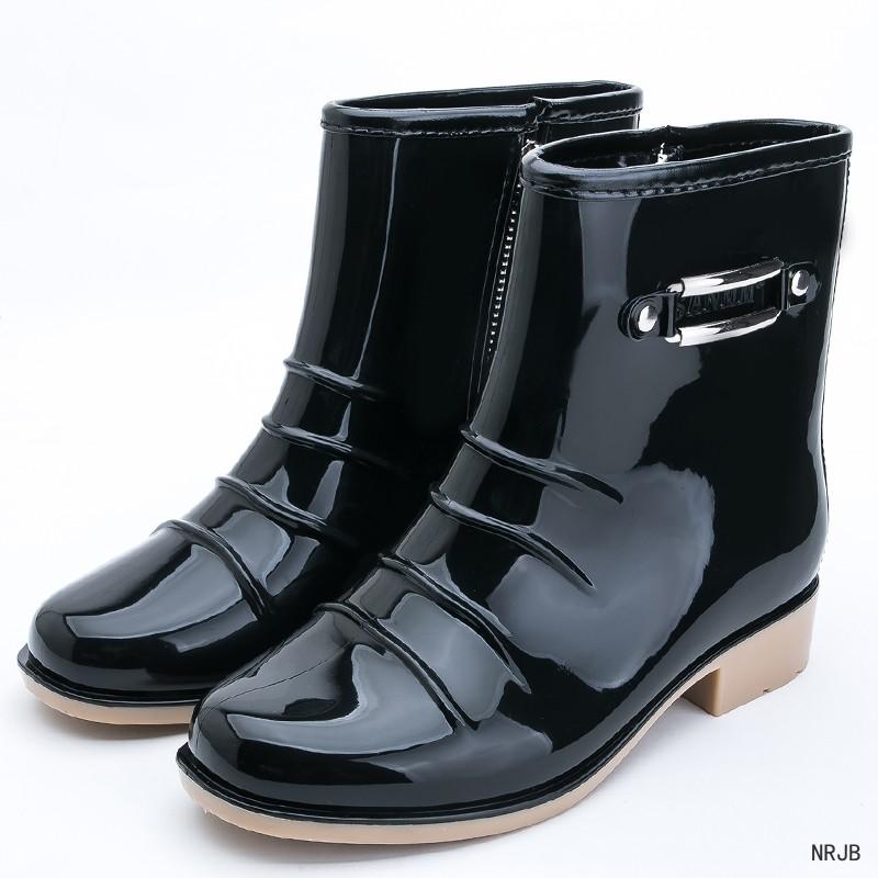 991999aaec4 Compre Atrapar A Los Hombres De Moda Balck Botas De Lluvia Para ...
