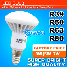 R50 LED lamp E14 Base 3W 5W 7W 220V 230V 240V Warm white Cold white free shipping