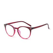 KOTTDO, Ретро стиль, круглые компьютерные прозрачные очки, оправа для женщин, Ретро стиль, ультра-светильник, оправы для очков по рецепту, для му...(Китай)