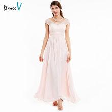 Dressv бордовое вечернее платье недорогое ТРАПЕЦИЕВИДНОЕ платье без рукавов длиной до пола с бусинами Свадебные вечерние платья(Китай)