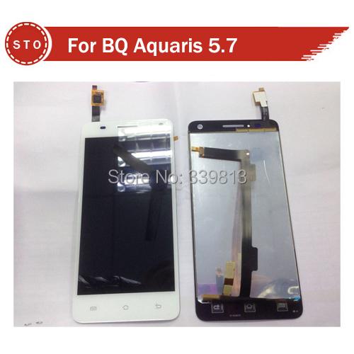 Для бк Aquaris 5,7 жк-дисплей + дигитайзер сенсорный экран Assemblely черный или белый