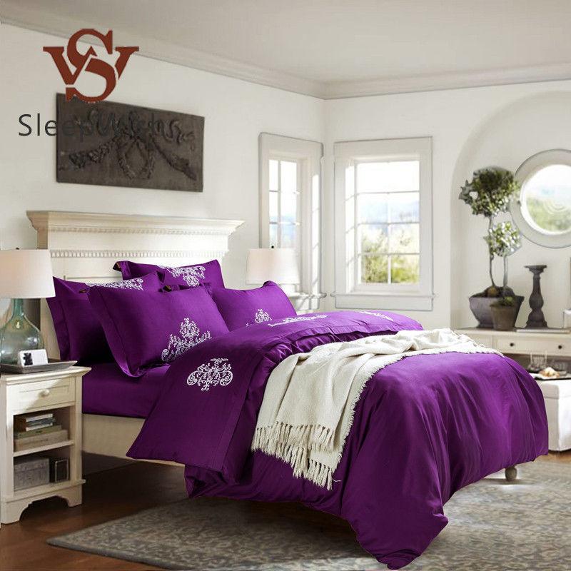 achetez en gros violet housse de couette en ligne des grossistes violet housse de couette. Black Bedroom Furniture Sets. Home Design Ideas