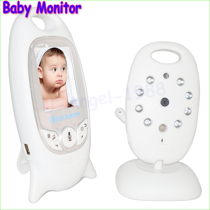 2 0 inch Color Video Wireless Baby Monitor Security Camera 2 Way Talk Nigh Vision IR