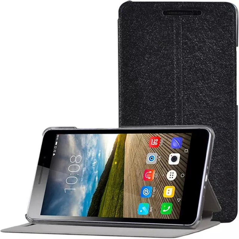 detailed look 5b3a7 3a1b8 Luxury PU Leather Cover For Lenovo PHAB Plus PB1 770N PB1 770M PB1 770  Tablet 6.8 Inch Case + Clear Screen Protector Film Case For 10 Inch Tablet  Bags ...