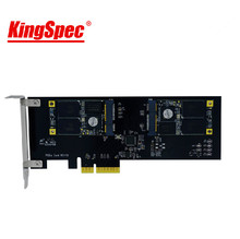 kingspec Multicore Series Pci-E Express 2.0 card 512GB SSD Solid State disk HDD internal card for PC server Gamer/laptop/desktop