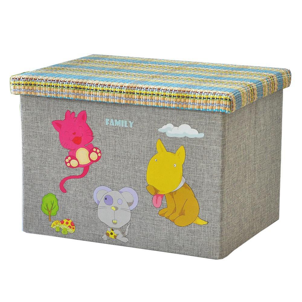 Cute Animal Collapsible Toy Storage Organizer Folding: Popular Animal Storage Boxes-Buy Cheap Animal Storage
