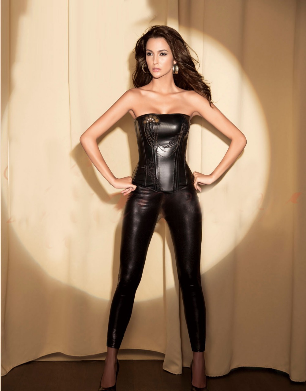 Girls in leather corsets intolerable