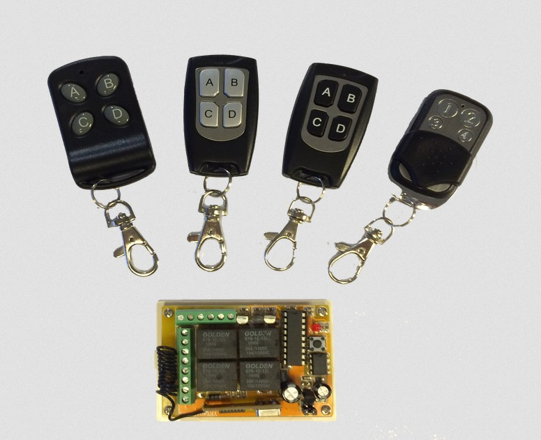 Rf Remote Control Circuit Board Garage Door Remote Control