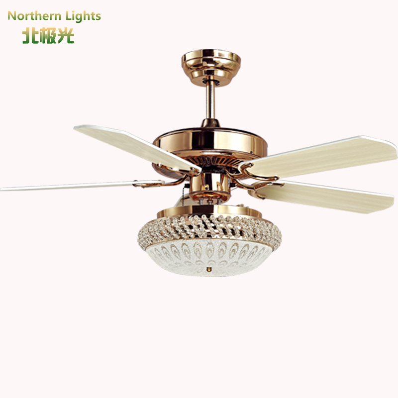 Ceiling Fans Light Fixtures: Led Modern Wrongt Iron Ceiling Fan Light Fashion Antique