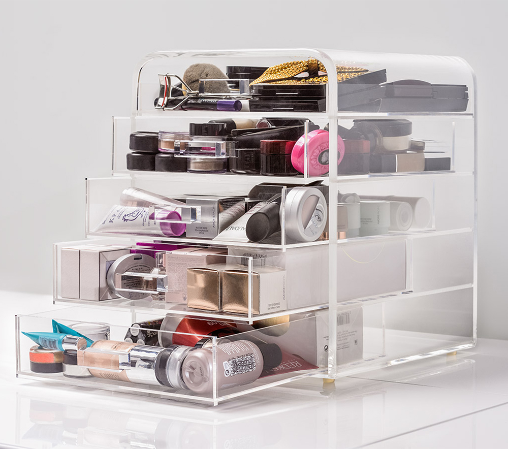 Cheap makeup organizer