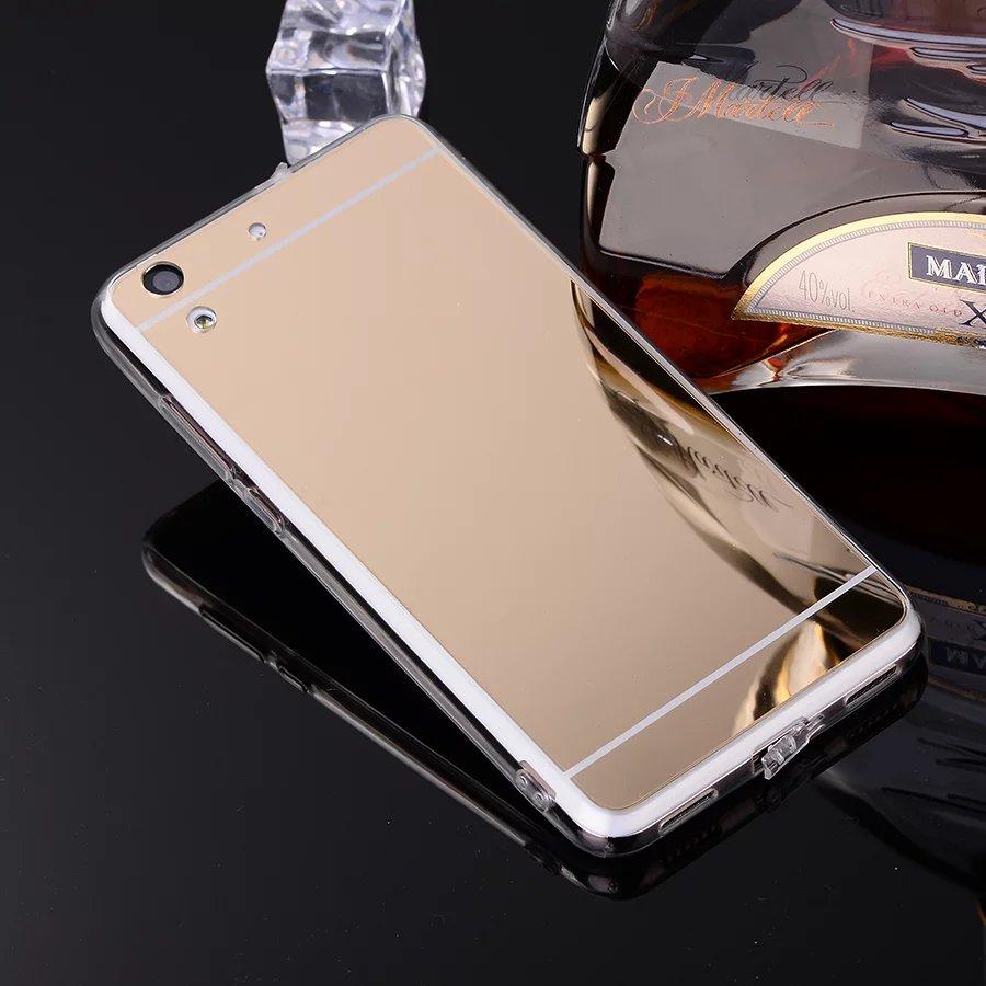 big sale a5fc6 86365 For Huawei Y6 2 / Huawei Y6 II Case Luxury Mirror Case Soft TPU Cover Case  For Huawei Y5II Y3II P10 P20 Lite Back Cover Shell