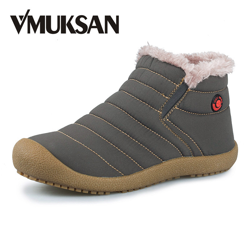 New Men Winter Snow Shoes Lightweight Ankle Boots Warm