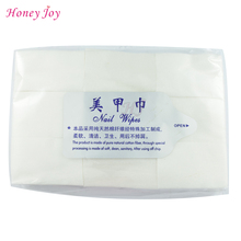 900PCS Package Hot Sale Nail Tools Bath Manicure Gel Nail Polish Remover Lint Free Wipes 100