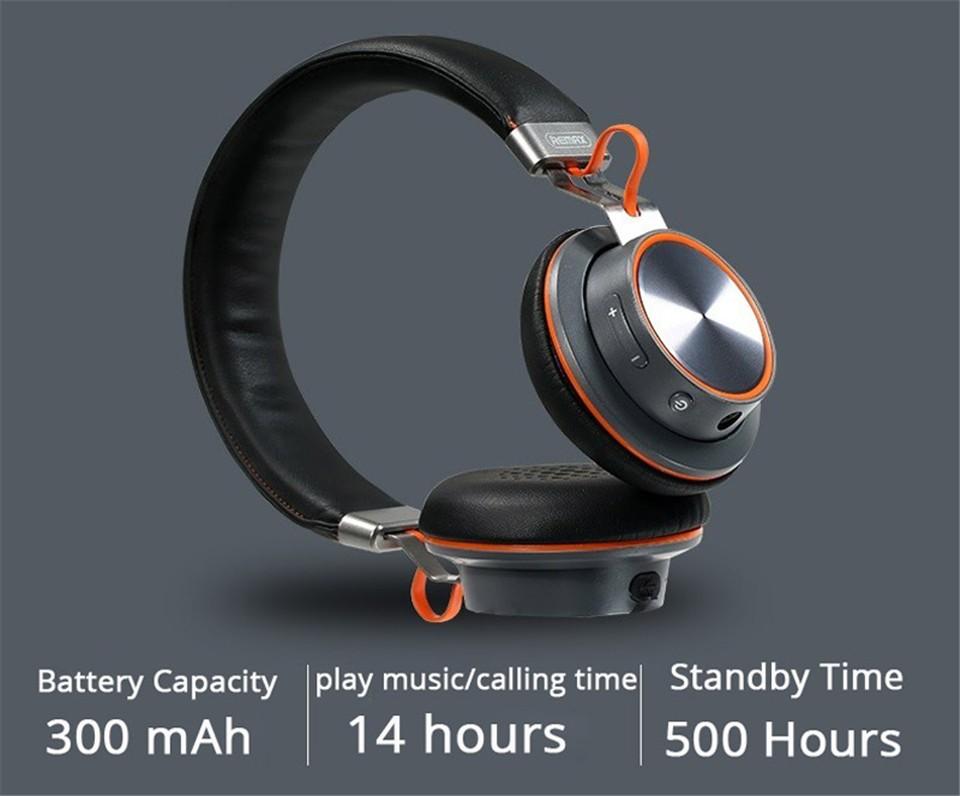Remax 195hb Deep Bass Headphone Bluetooth 4 1 Wireless
