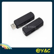 8GB VOR/VOS USB Voice recorder USB audio recorder Sliding USB connector battery time more than 15 hours