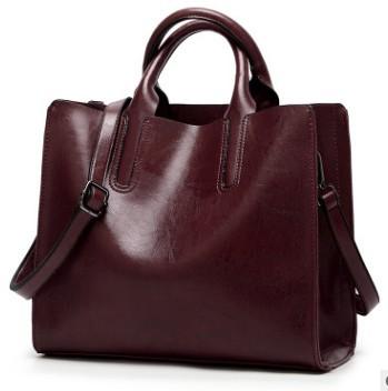 Винтажные Сумки из натуральной кожи, женские сумки-мессенджеры, женские кожаные сумки высокого качества с масляным воском, женская сумка на...(Китай)