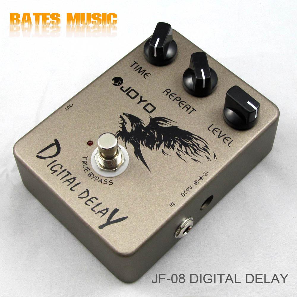buy joyo jf 08 guitar effect pedal digital delay electric bass dynamic. Black Bedroom Furniture Sets. Home Design Ideas