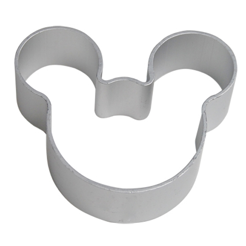 Christmas Kitchen Tools Aluminium Mold Mouse Shaped Sugarcraft Cake Decorating Cookies Pastry Cutter Mould Tool cutter