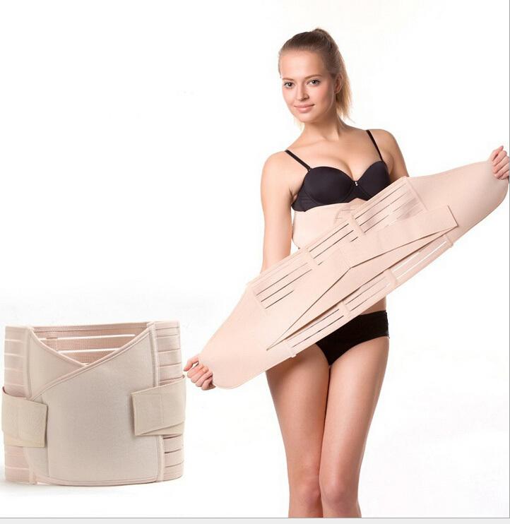 Postpartum weight loss body wrap Slimming Waist Belt Wrap waistband Firming Waist Trimmer Body Wrap Belt