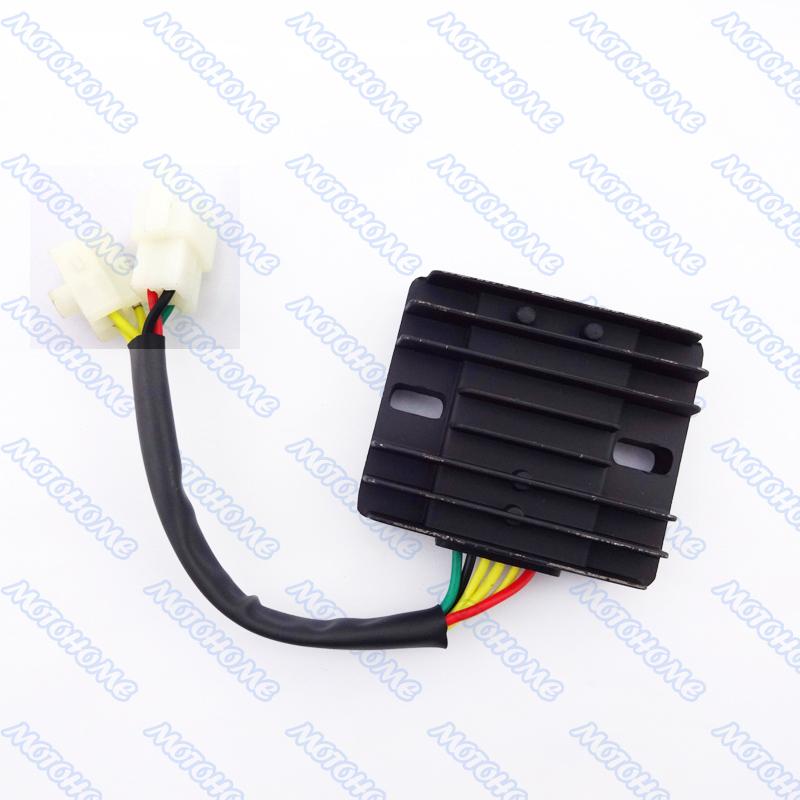 6 Wire 12v Dc Voltage Regulator Rectifier Gy6 150cc 200cc - Www