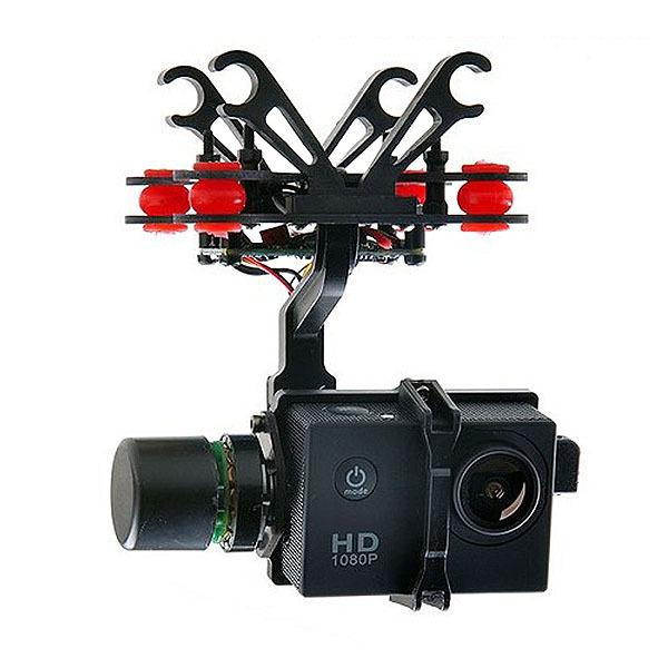 SJ2D 2-Axis Brushless Gimbal For SJ4000/5000/6000 FPV Photography Gopro