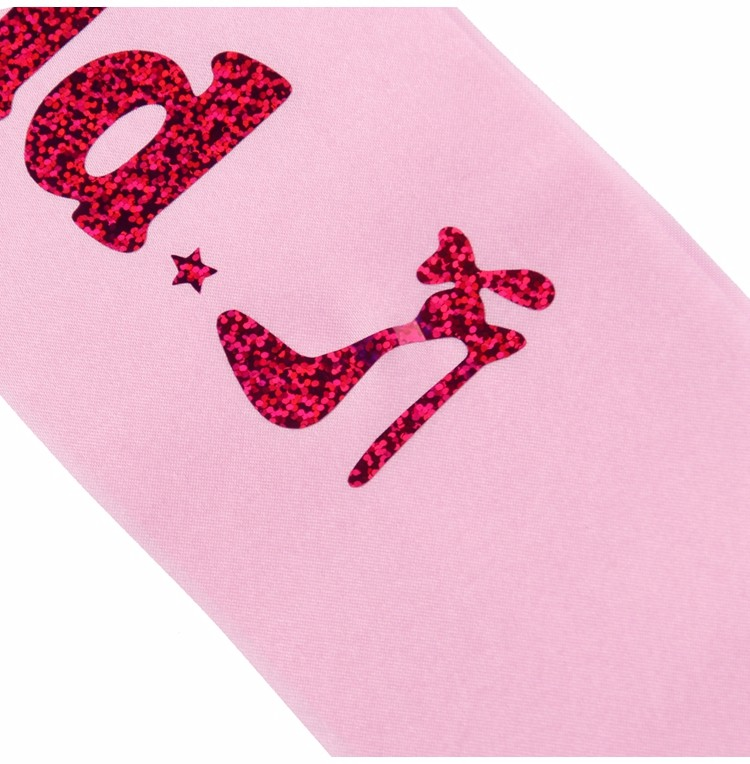 Wholesale FENGRISE Pink Hen Party Sashes Satin Ribbon Bride To Be Bridal  Shower Sash Bachelorette Ladies Night Wedding Decoration Supplies Guest