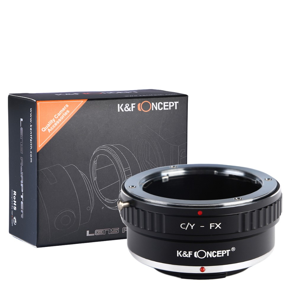 Yashica-FUJI X X-M1 X-T10 X-E2 X-A1 Contax-FUJI X KECAY CY-FX Lens Mount Adapter C//Y Contax//Yashica Lens To Fujifilm X-Series Camera for X-Pro1 X-E1 X-T1