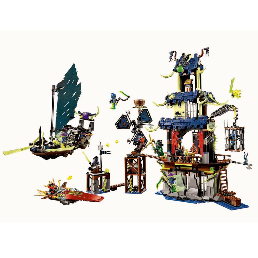Buy Bela 10401 Ninjagoed Marvel Ninja City Ghost Building Blocks