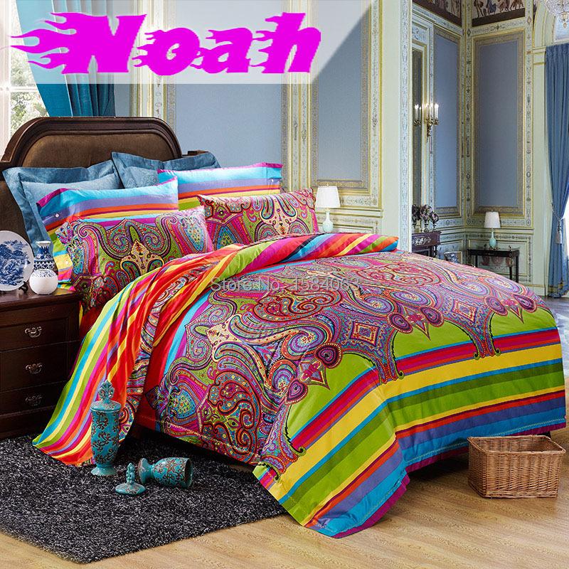 luxury egyptian cotton renaissance florence school bohemian bedding set king size boho duvet. Black Bedroom Furniture Sets. Home Design Ideas