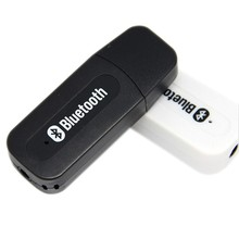 Hot USB Wireless Bluetooth Audio Music Adapter Bluetooth Receiver 3.5mm Stereo for Car AUX Home Speakers, PC, cellphone