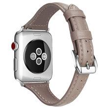 Женская Т-образная Цветочная повязка для Apple Watch 38 мм 42 мм кожаный ремешок для Apple Iwatch 40 мм 44 мм Серия 1 2 3 4 5 ремешок для часов(China)