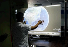 Fast  Shipping! 37 inch Real 4 points Projected capacitive Interactive Touch Foil Film