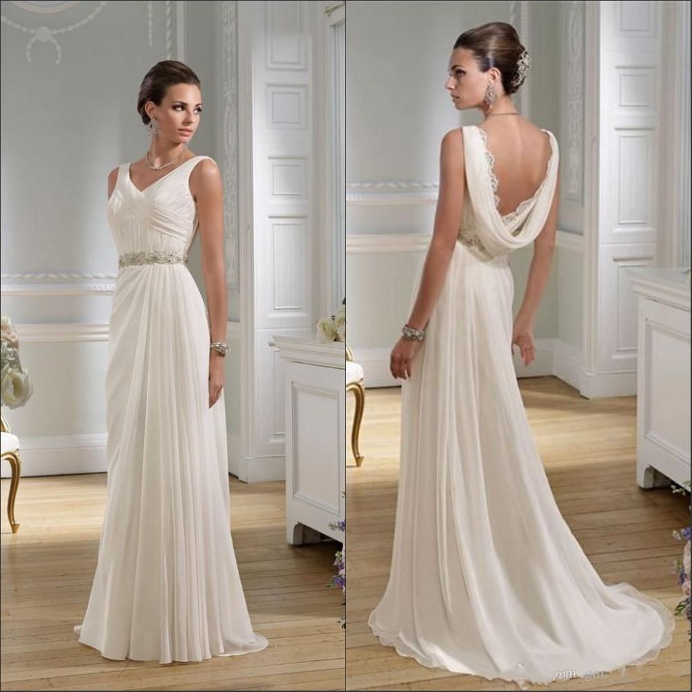 Greek Goddess Cowl Back Wedding Dress Fall 2016 Mermaid: Cowl Neck Wedding Dress Promotion-Shop For Promotional