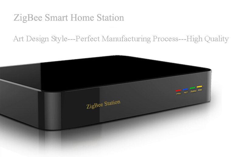 zigbee smart home automation gateway in remote control. Black Bedroom Furniture Sets. Home Design Ideas