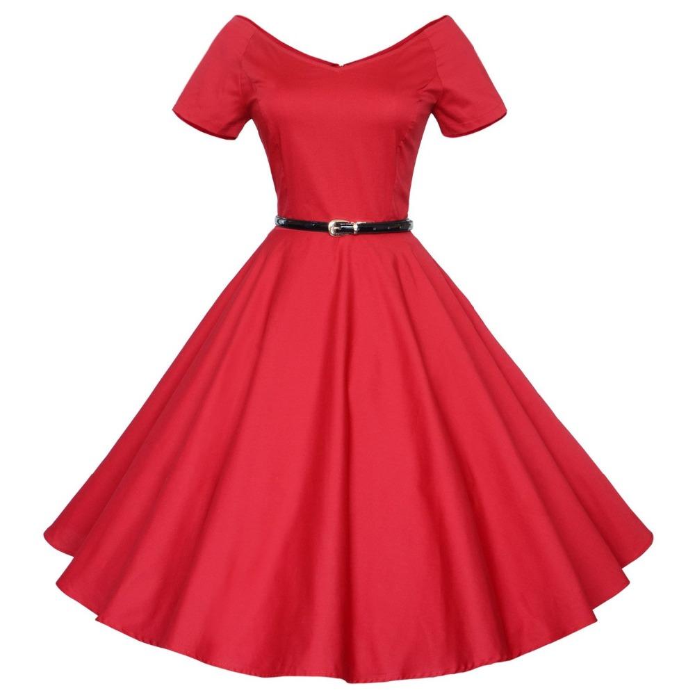 96 Fun Facts About Your Favorite Bridal Designers: Audrey Hepburn Vintage 50s 60s V Neck Short Sleeve Belt