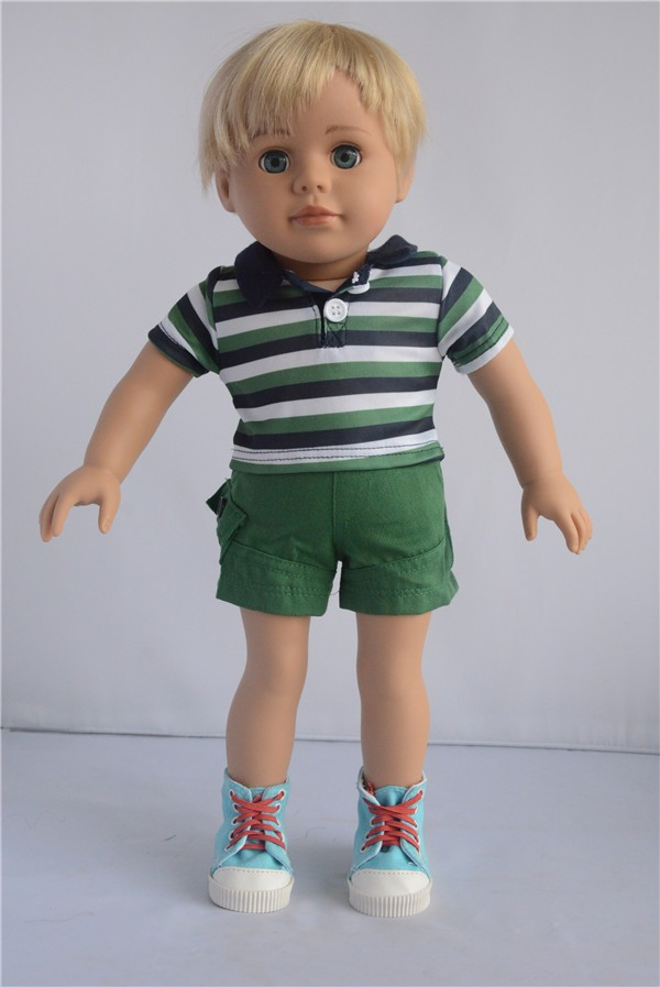 18 Inch American Boy Doll Custom Vinyl 18 Inch Boy Doll