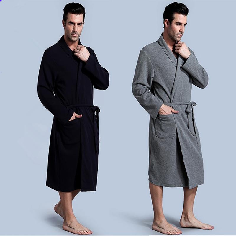 Free Shipping Navy Blue Women S Robe Silk Polyester Kimono ...