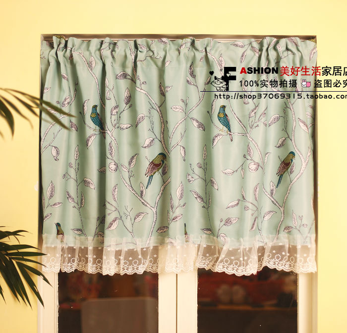 Mint Green Curtains Promotion-Shop For Promotional Mint