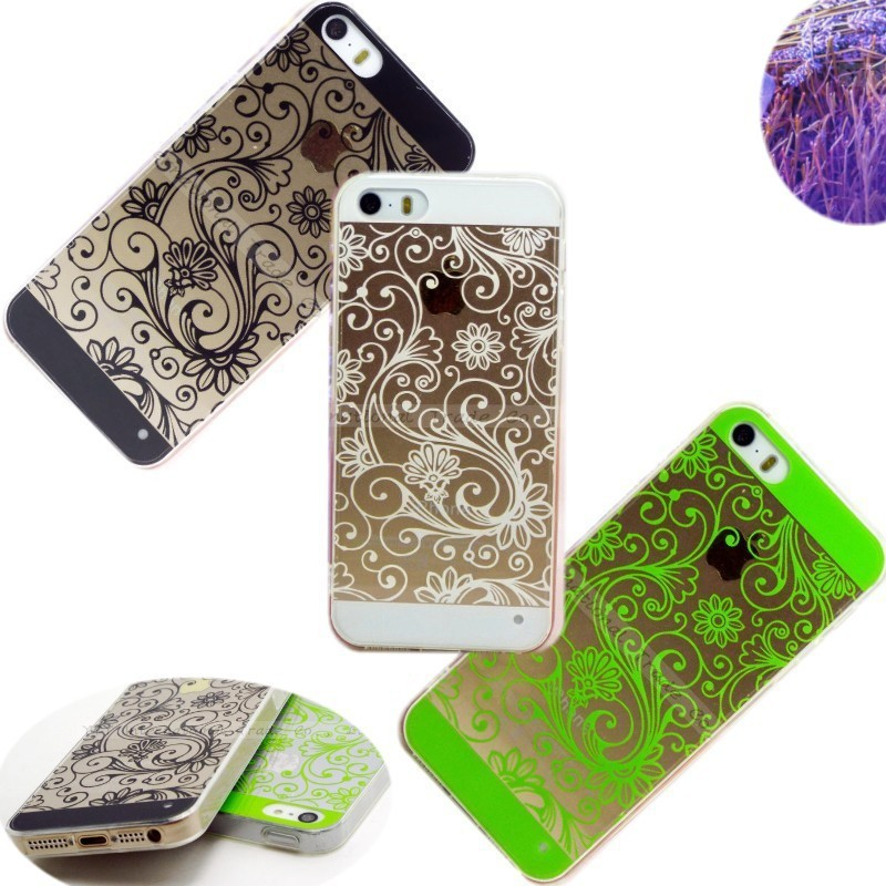 5 5S SE 4 Elaborate Originality Soft TPU Cases For Apple iPhone 5 5S iPhone SE