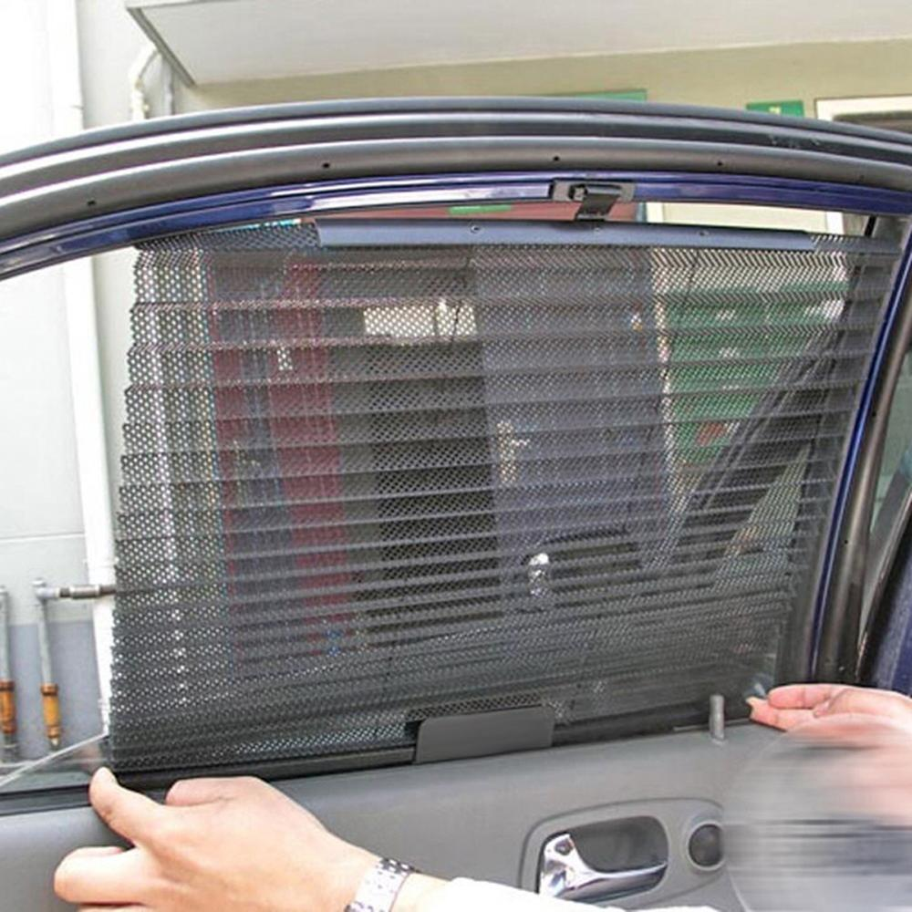 Wholesale Hot Car Window Sunshade Curtain Black Side Rear Window ... 0c877be5595