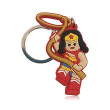 1 шт., Супергерой, фигурка, кулон, брелок, держатель для ключей, настольные аксессуары и органайзер, сумка для ключей, Декор, подарок для детей(Китай)