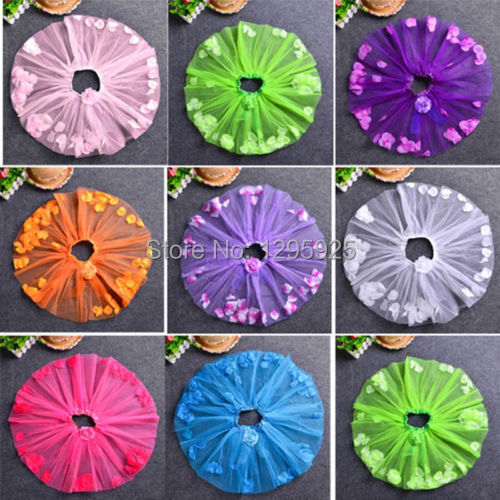2014 Girls Petal Princess font b Fancy b font Kids Up tutus Dance Short Petti Skirt